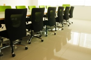 Image of clean office