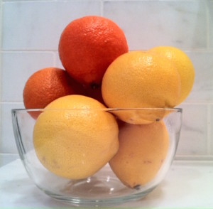 bowl of citrus
